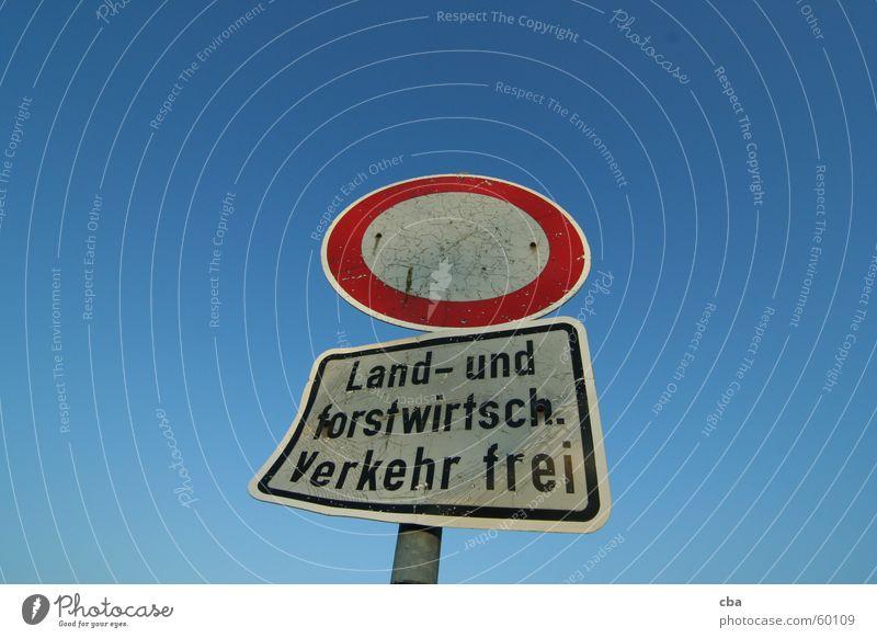 Bauernweg Wege & Pfade Schilder & Markierungen frei Landwirtschaft Verbote Bad Hersfeld
