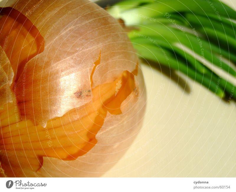 Zwiebel grün Ernährung glänzend Lebensmittel Wachstum Gemüse Schalen & Schüsseln abblättern Zwiebel Reifezeit