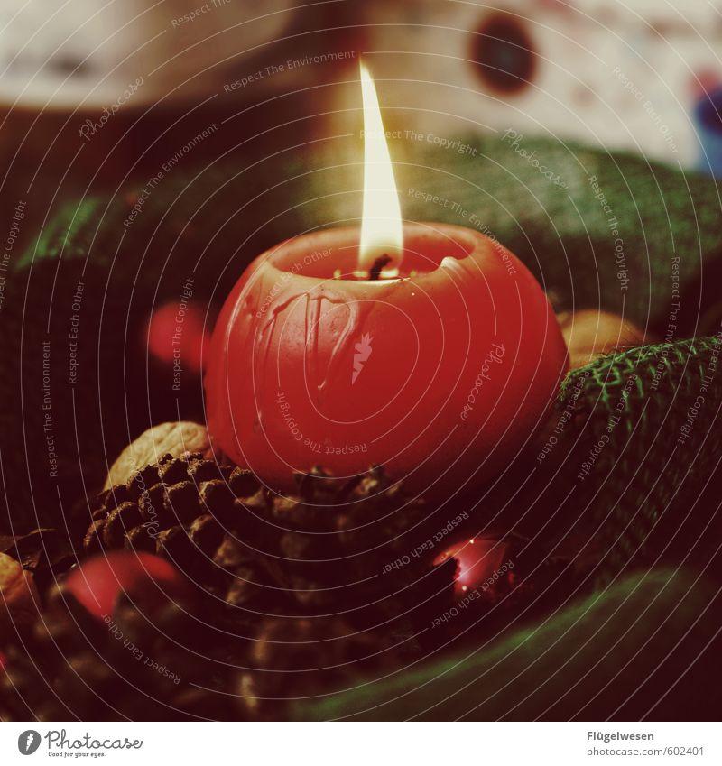 Morgen in 2 Wochen ist Weihnachten! Nachtleben Feste & Feiern Weihnachten & Advent Geburtstag Gefühle brennen Kerze Kerzenschein Kerzendocht Kerzenständer