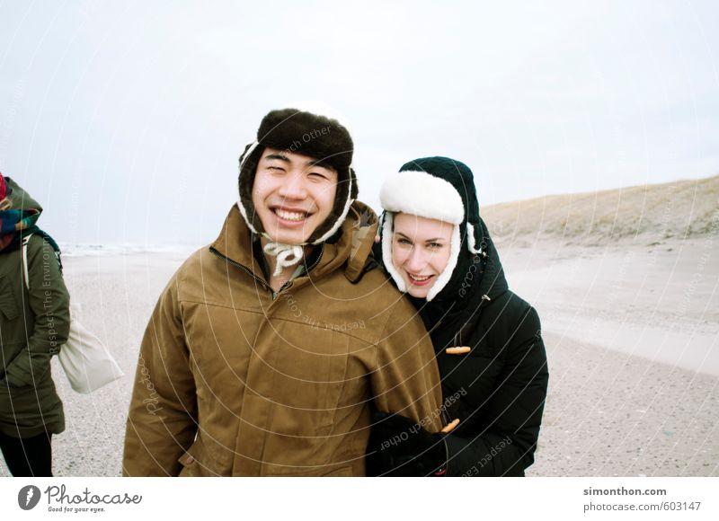 Ausflug Mensch Natur Jugendliche Ferien & Urlaub & Reisen Freude Ferne Leben Gefühle Liebe Freiheit Glück Paar Freundschaft Zusammensein Tourismus