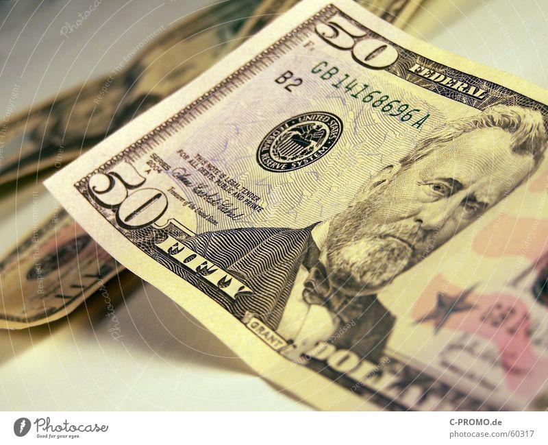 Neue US-Dollar-Scheine! USA Guthaben Musiknoten Geldscheine Bar Reichtum Hintergrundbild Bargeld Besitz Makroaufnahme Nahaufnahme Kapitalwirtschaft profit $50