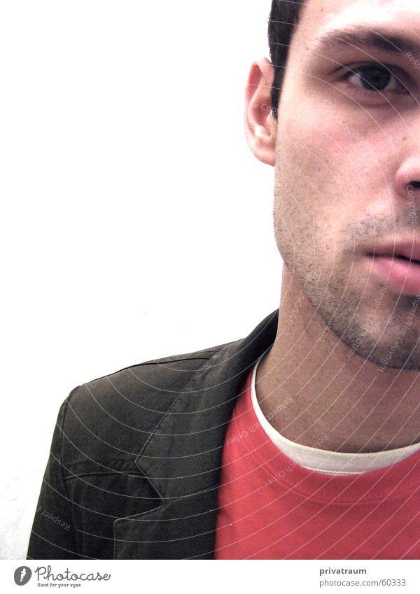 ichundichundich rot weiß braun Mann 23 Anzug Bart Dreitagebart Europäer Homosexualität selbst Gesicht face Kopf boy man 24 25 Nase Auge gay