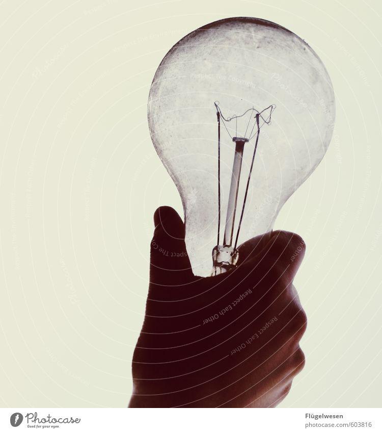 Ich hab' ne Idee Hand Beleuchtung Lampe Schule Freizeit & Hobby Büro Häusliches Leben Lifestyle leuchten lernen Studium festhalten Bildung Erwachsenenbildung