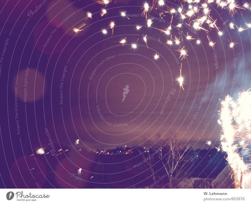 Erstes 2014 | Happy New Year Freude Stimmung Silvester u. Neujahr Feuerwerk Vorfreude