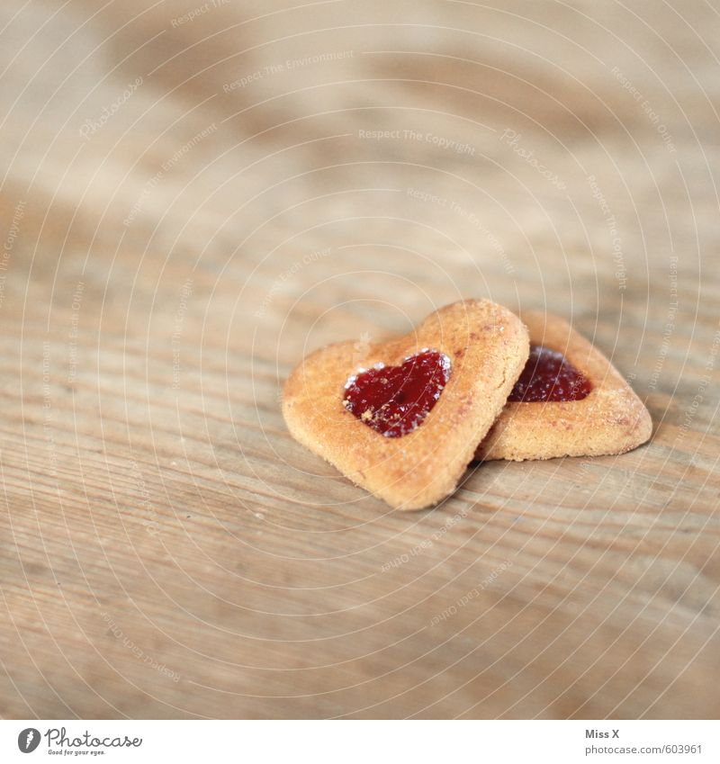 Keks Weihnachten & Advent Gefühle Liebe Stimmung Lebensmittel Herz Ernährung süß Kochen & Garen & Backen Romantik Süßwaren lecker Verliebtheit Backwaren Zucker Teigwaren