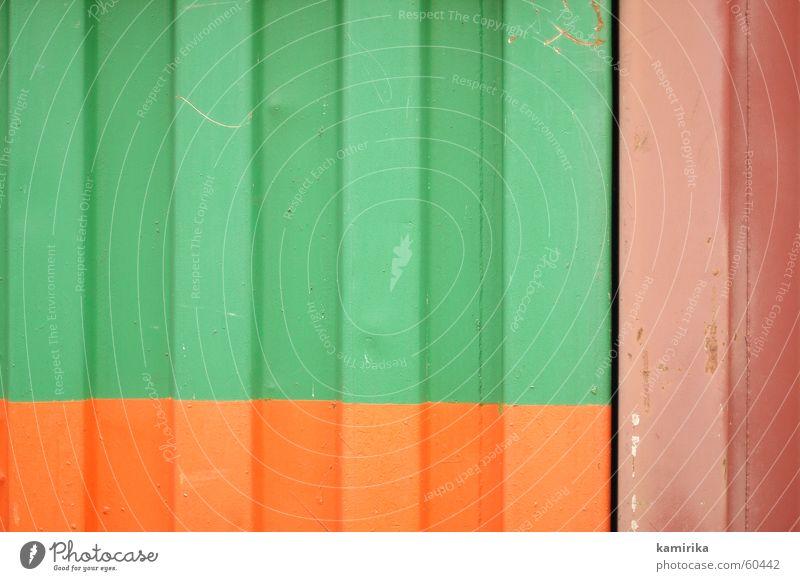profilstahl #3 grün rot Farbe Wasserfahrzeug Metall Hintergrundbild Güterverkehr & Logistik Lastwagen Stahl Grafik u. Illustration Eisen Container graphisch Ornament Blech
