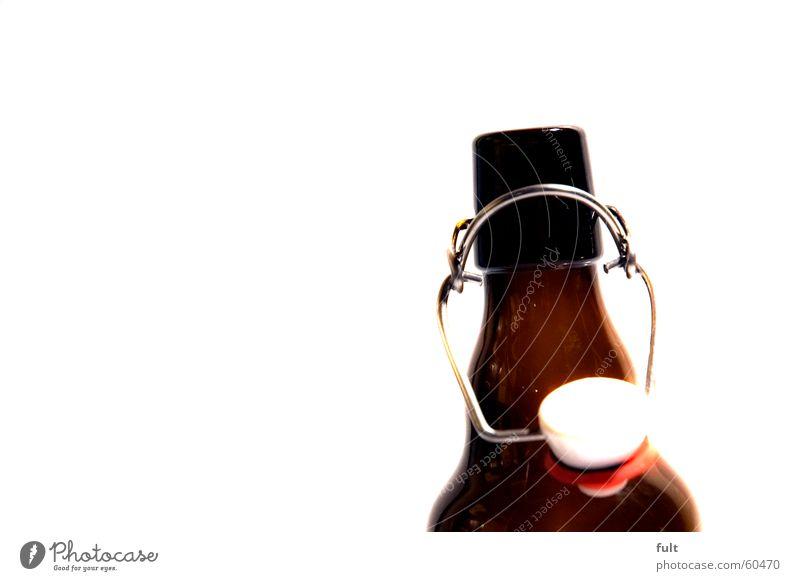 flasche Stil braun Flasche Gummi Verschluss Pfandflasche