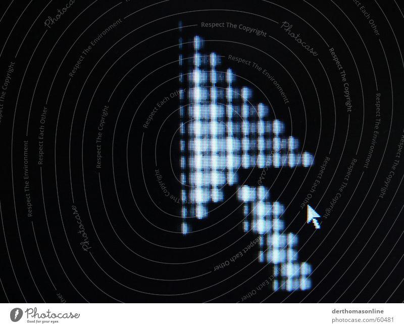 Big Brother weiß schwarz Bewegung klein Hintergrundbild groß paarweise Grafik u. Illustration Pfeil Bildschirm Richtung Doppelbelichtung aufwärts parallel