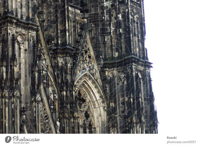 Kölner Dom Götter schwarz Gotteshäuser Religion & Glaube chruch cathedral Kathedrale Rhein