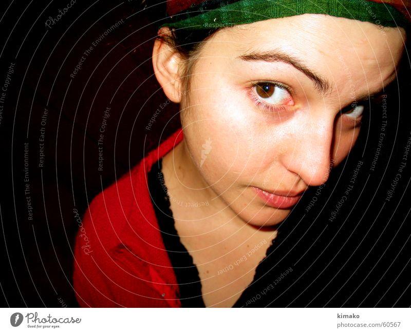 Margarita Frau Gesicht Auge Nase Flüchtiger Blick