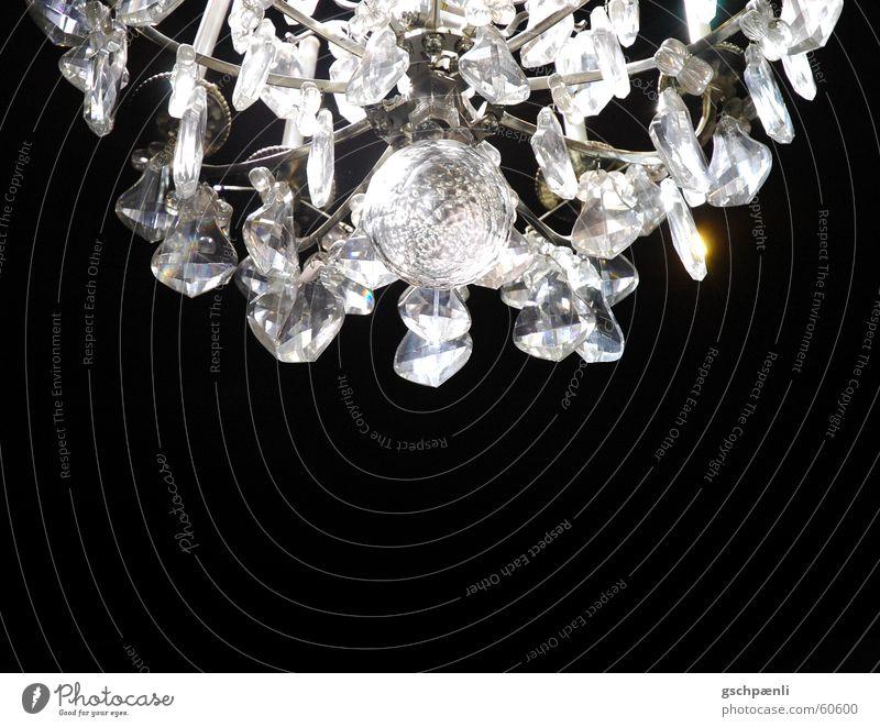 Versailles Lampe glänzend Glas Reichtum Kristallstrukturen Kronleuchter
