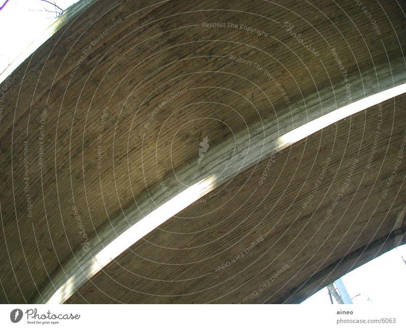 brueckenbogen Beton Radius Architektur Brücke Straße