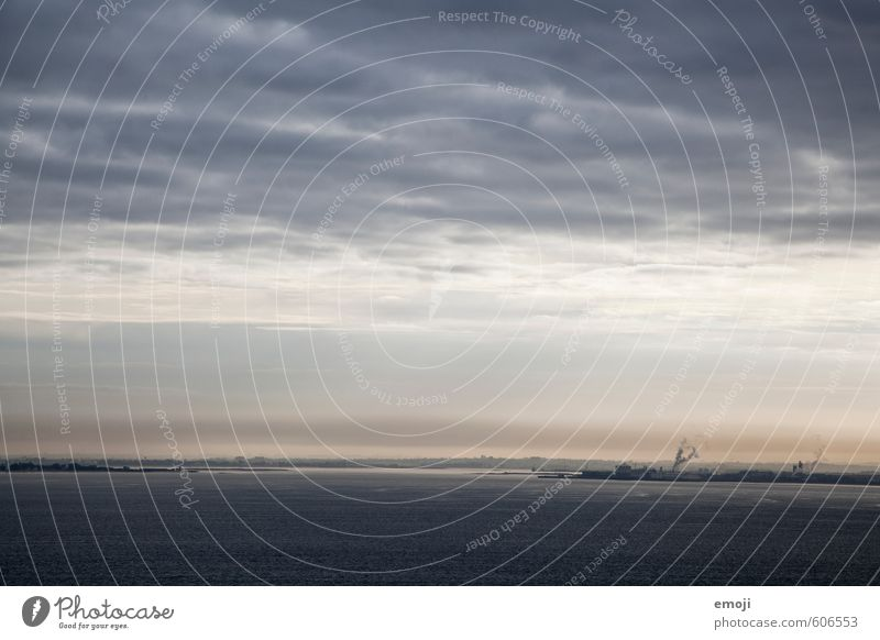 industriell Himmel Natur blau Wasser Meer Landschaft dunkel Umwelt Küste Energiewirtschaft Industrie