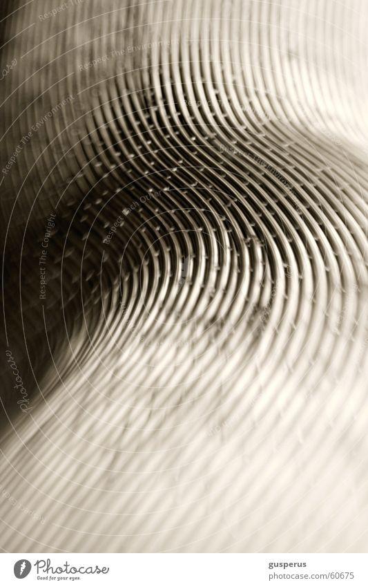 Linien die 2te Farbe träumen Metall weich Dinge Dynamik sanft angenehm nachsichtig