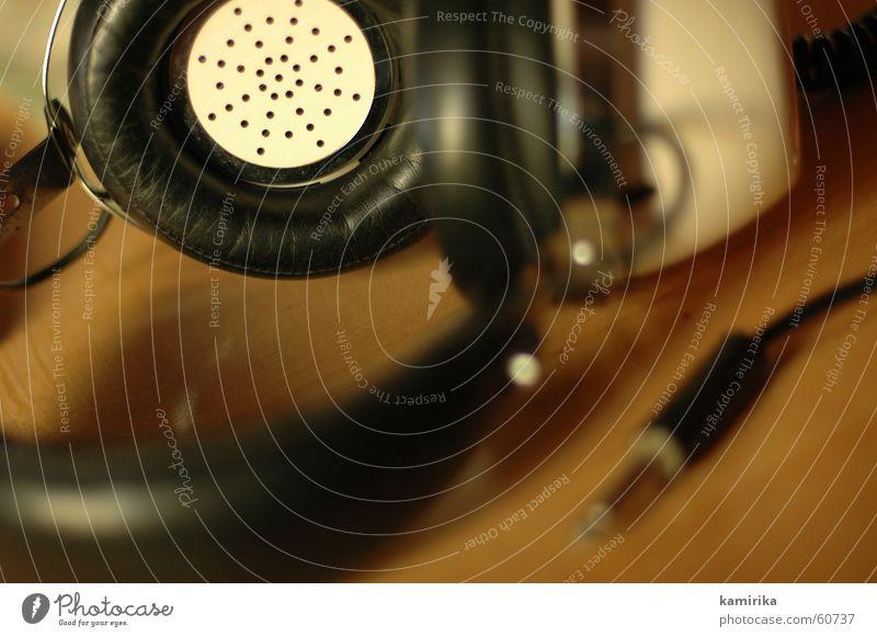 unplugged Musik hören Kopfhörer Ton Signal old-school MP3-Player Musik unplugged