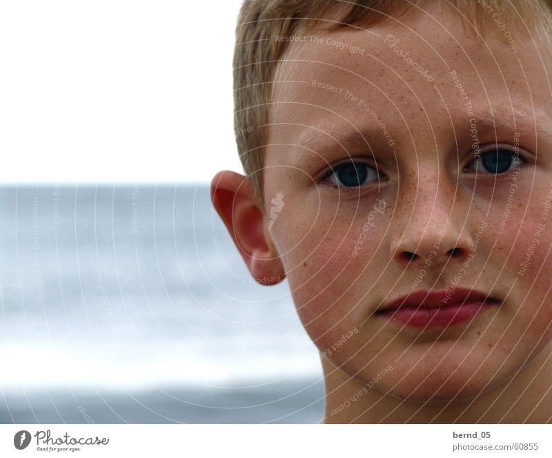 Louis Kind Sonne Sommer Strand Ferien & Urlaub & Reisen