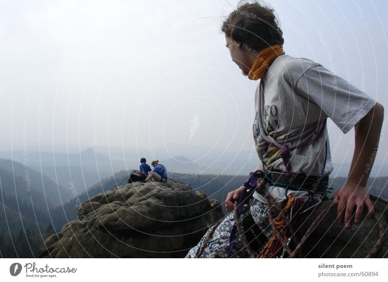 Aussicht vom Lehnsteigturm Landschaft Klettern