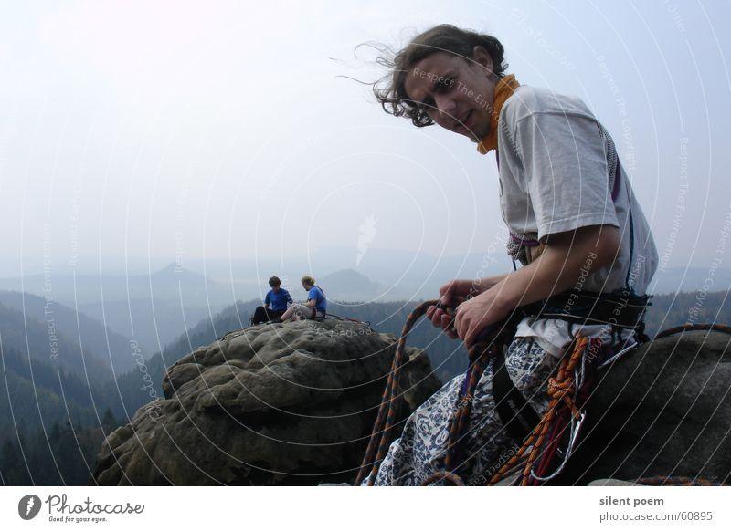 auf´m Lehnsteigturm Klettern