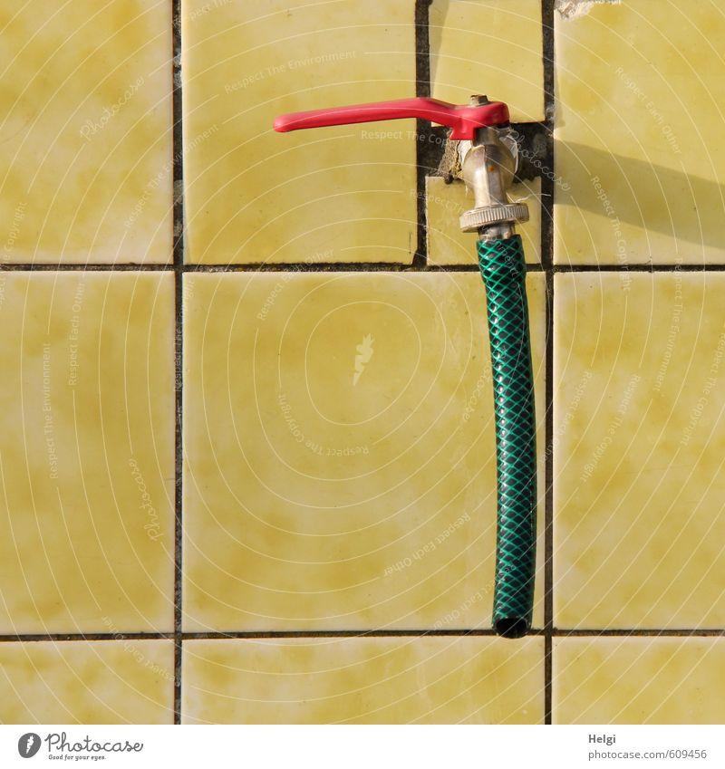 o´zapft is... grün rot gelb Wand Mauer grau außergewöhnlich Häusliches Leben Ordnung authentisch einfach Sauberkeit einzigartig Kreativität Kunststoff