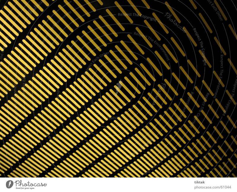 gelb/schwarz diagonal Licht Gitter Hintergrundbild Streifen Linie Muster Lampe Beleuchtung