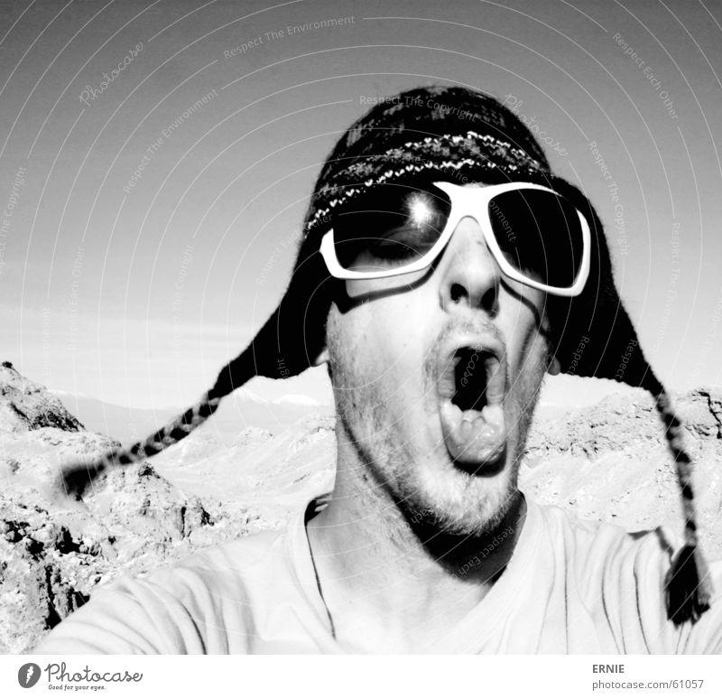 lol/irgentwas Ferien & Urlaub & Reisen Berge u. Gebirge Mund Sand Wind Brille Klettern Sturm Mütze dumm Loch Selbstportrait Dummkopf Chile Quaste mündlich