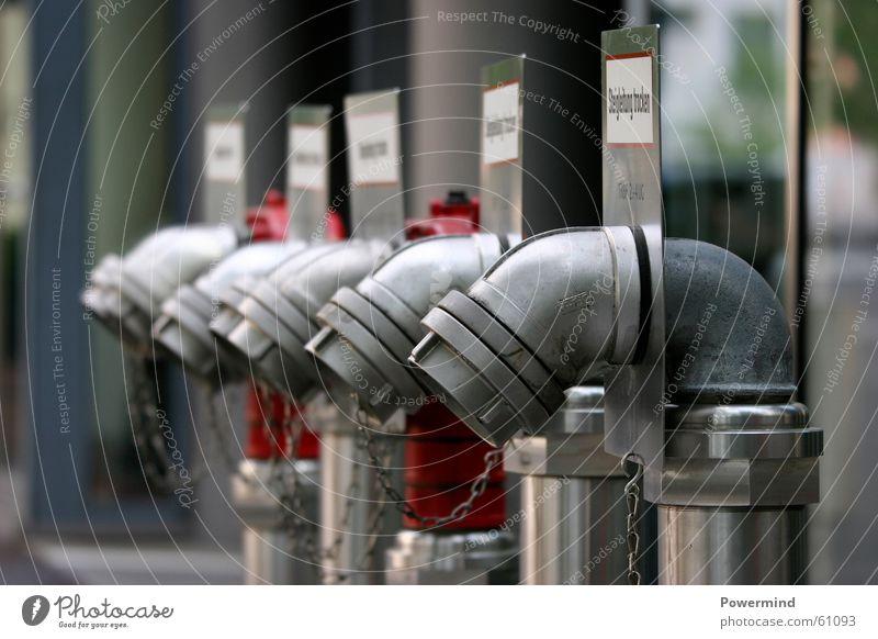 112Technic 1 Wasser Brandschutz trocken Druck Aluminium Feuerwehr Anschluss 112