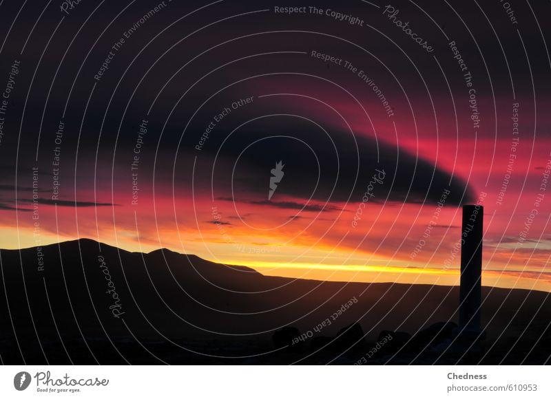 Earthsteam Ferne Expedition Thermometer Energiewirtschaft Erneuerbare Energie Umwelt Natur Landschaft Urelemente Erde Feuer Luft Wasser Himmel Wolken