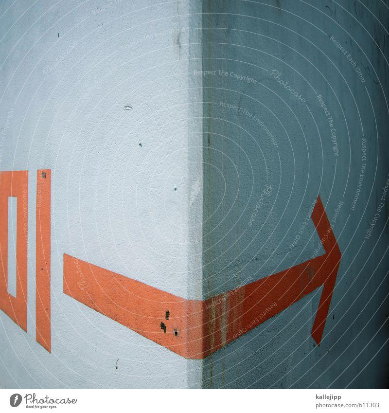 einen um die ecke bringen Schilder & Markierungen Pfeil Zeit Ziel Zukunft 1 erste Erfolg planen Eckstoß Barriere Richtung Orientierung aufwärts trendy Verlauf