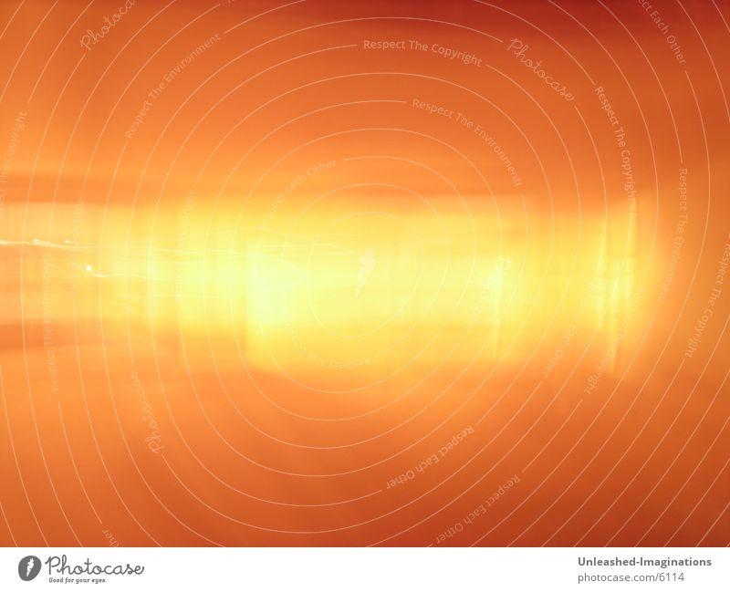 Light & Motion Bewegung orange Überbelichtung Lichteffekt