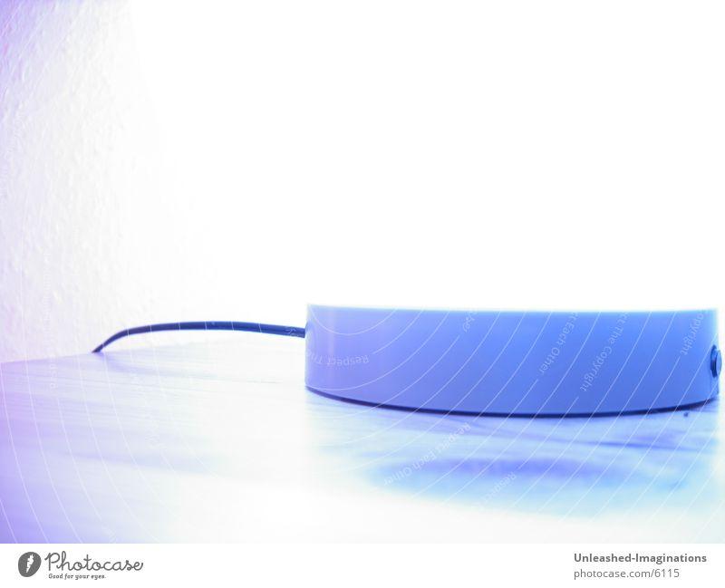 Shiftin Light blau Lampe Überbelichtung abstrakt