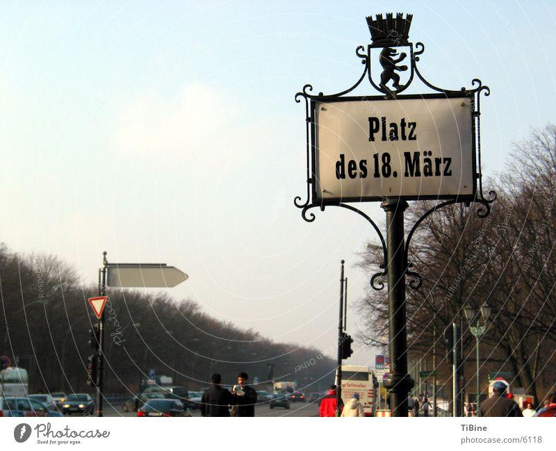 Platz des 18. März Berlin Ferien & Urlaub & Reisen Europa