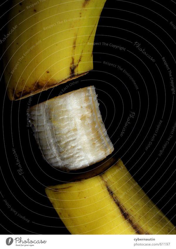 gammelig und bauchfrei gelb braun Frucht Banane verdorben