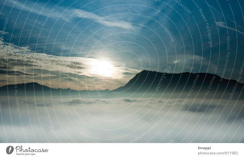 heaven Himmel Natur blau weiß Sommer Sonne Landschaft Wolken Ferne schwarz dunkel Umwelt Berge u. Gebirge Wärme Frühling oben