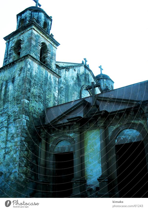 Old place of faith Religion & Glaube Mexiko Gotteshäuser church old alt kimako