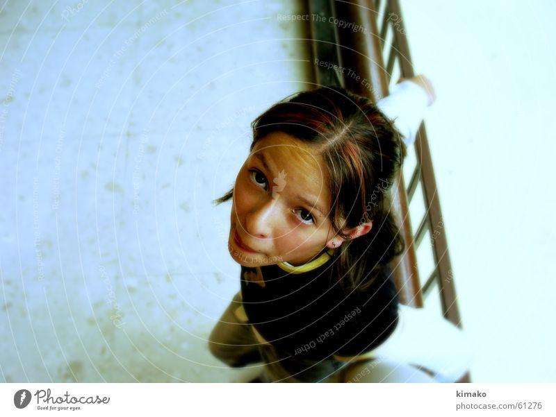 Stephanie Jugendliche Mädchen Gesicht Auge lachen grinsen