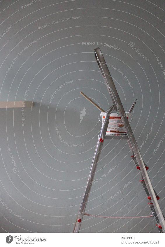 Baustelle Handarbeit Häusliches Leben Wohnung Haus Hausbau Renovieren Umzug (Wohnungswechsel) Innenarchitektur Raum Handwerker Anstreicher Arbeitslosigkeit