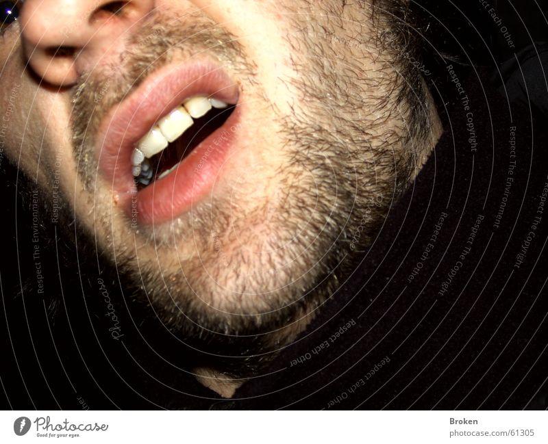 Hähhh? Gesicht Auge Haare & Frisuren Mund Nase verrückt Zähne Lippen Bart Momentaufnahme Kinn ratlos
