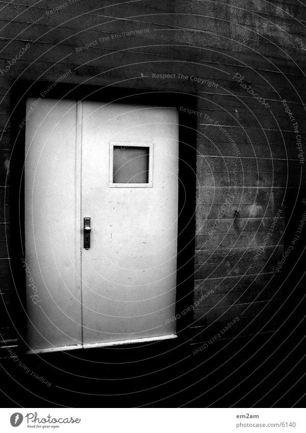 white door to heaven weiß Architektur Tür black Burg oder Schloss