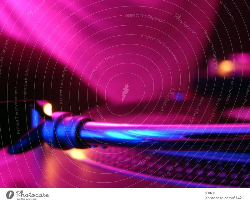 silent needle liegen Club Diskjockey Tonabnehmer Plattenspieler passieren Plattenteller