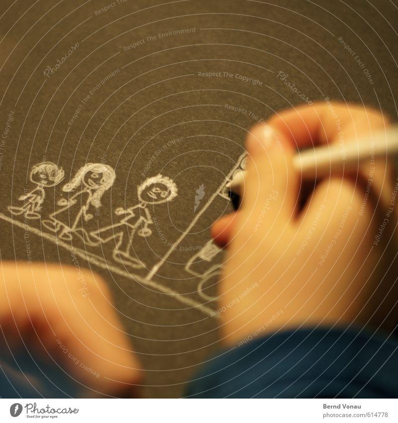 Schema F Kind Mensch Eltern Erwachsene Mutter Familie & Verwandtschaft Hand Finger 3-8 Jahre Kindheit 18-30 Jahre Jugendliche Papier Schreibstift zeichnen klein