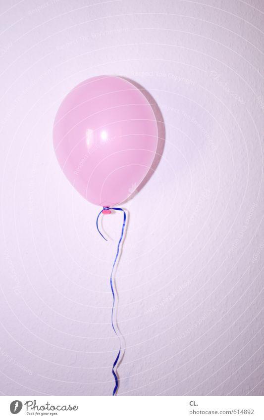 minimalparty Freude Wand Mauer Feste & Feiern Party rosa fliegen Freizeit & Hobby Wohnung Raum Dekoration & Verzierung Geburtstag Fröhlichkeit Lebensfreude Luftballon Veranstaltung