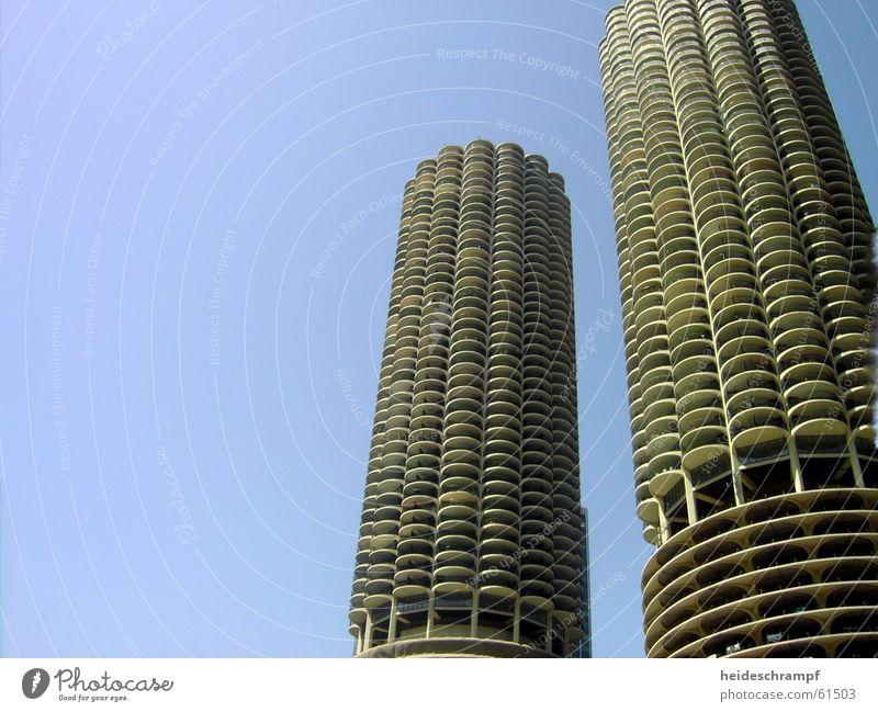 parken wie die götter Parkhaus Chicago Kaktus Etage Fahrstuhl magnificant mile hochhasu skyskraper