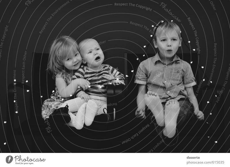 Mensch Kind schön Mädchen Freude Junge Stil Denken Gesundheit träumen Familie & Verwandtschaft glänzend elegant Häusliches Leben Kindheit Erfolg