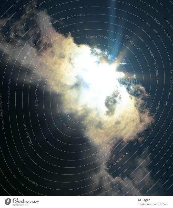 Sonnendurchbruch Natur Himmel Sonne Ferien & Urlaub & Reisen Wolken Regen