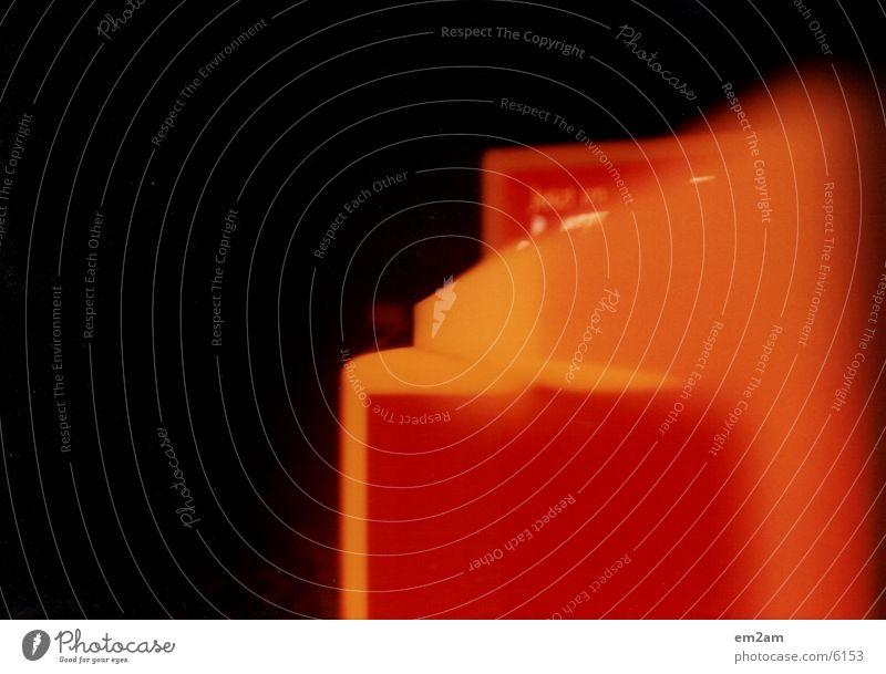 lichtseule part_1 Licht Tankstelle Club orange
