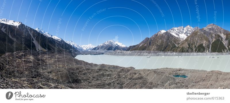 Tasman Lake Neuseeland VII Natur Landschaft Alpen Berge u. Gebirge Mount Cook National Park Mount Cook Gletscher Tasmanische See Tasman Gletscher Tasman Glacier