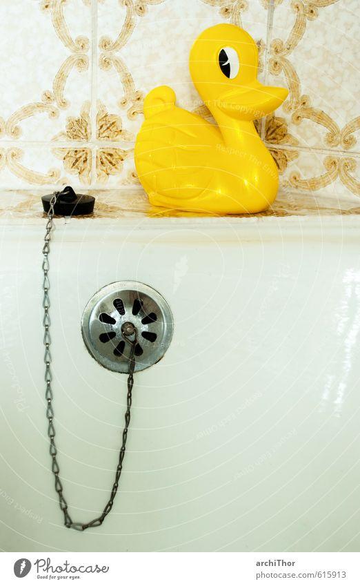 Wann kommt die Flut? Freude Wellness Zufriedenheit Schwimmen & Baden Freizeit & Hobby Spielen Badewanne Ente 1 Tier Badeente Metall Kunststoff Häusliches Leben