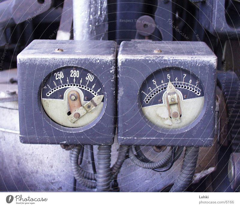 The Maschine Amaturen Metall Anzeige Armatur
