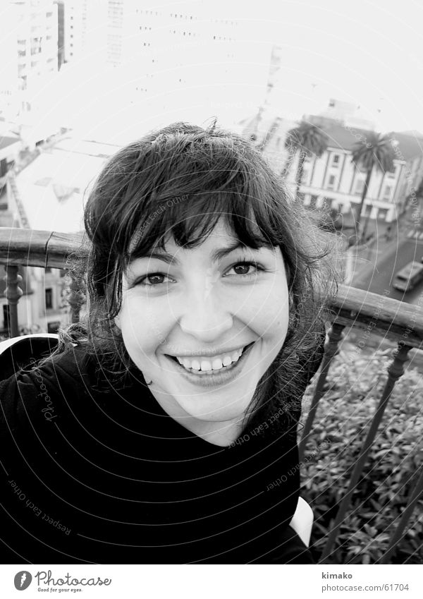 Margarita in Valparaiso Frau Freude Gesicht Auge Nase Chile Südamerika Kuba Fräulein Valparaíso Provinz Santiago de Cuba Santiago de Chile Flüchtiger Blick