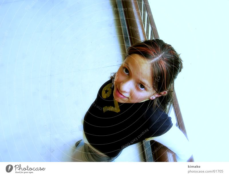 Stephanie II Mädchen grinsen face eyes teenage Gesicht lachen Auge Jugendliche kimako